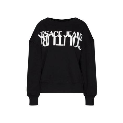 Versace Jeans Couture Mikina B6HZA7KI Čierna Regular Fit