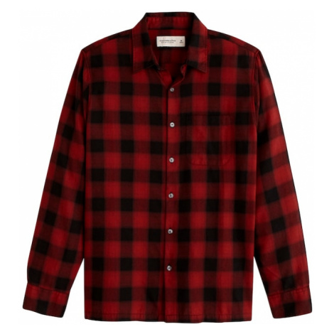 Abercrombie & Fitch Košeľa  červená / čierna