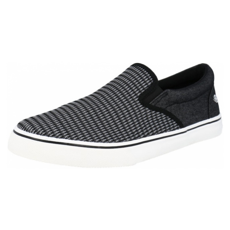 Dockers by Gerli Slip-on obuv  čierna / biela