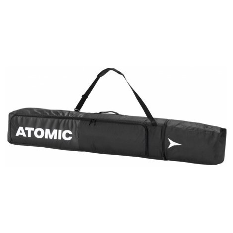 Vak na lyže ATOMIC Double Ski Bag Black/White Čierna