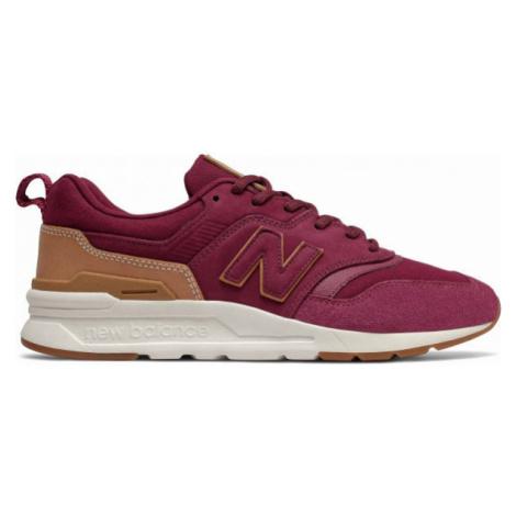 New Balance CM997HAE červená - Pánska voľnočasová obuv