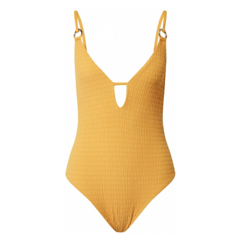 Hunkemöller Jednodielne plavky 'Goldenrod'  žltá Hunkemoller