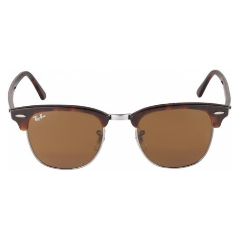 Ray-Ban Slnečné okuliare 'Clubmaster'  hnedá