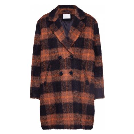 BE EDGY Prechodný kabát 'Beanuba'  hnedá / čierna