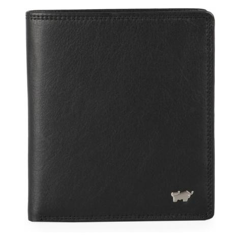Braun Büffel Pánska kožená peňaženka Golf 2.0 90441-051 - černá