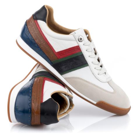 Tenisky La Martina Man Shoes Buttero Farro