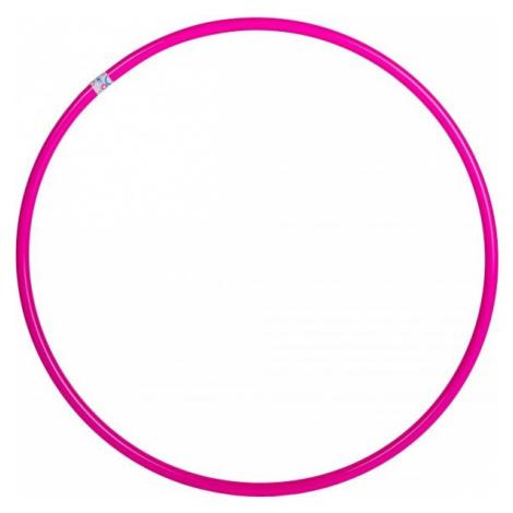 Fitforce HULAHOP50 svetlo ružová - Gymnastická obruč