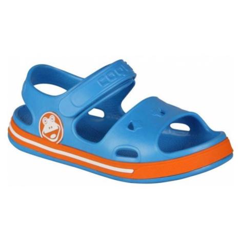 Coqui FOBEE modrá - Detské sandále