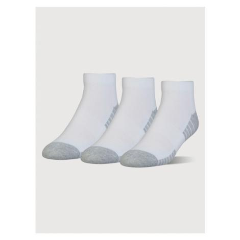 Ponožky Under Armour Heatgear Tech Locut 3 Pack Biela