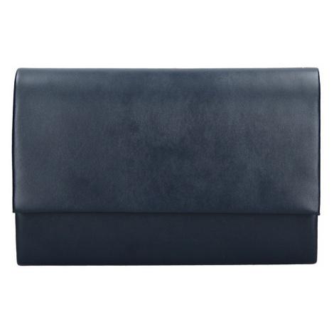 Elegantní listová kabelka Leona - tmavo hnedá Delami