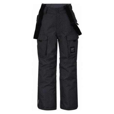 2117 LILLHEM sivá - Detské lyžiarske nohavice