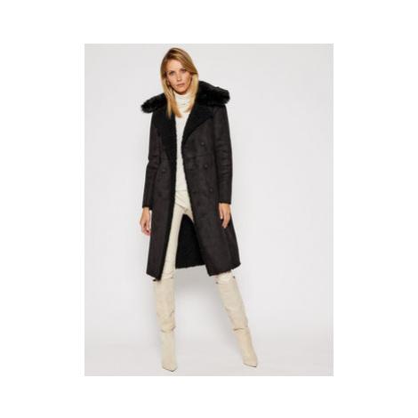 Patrizia Pepe Zimný kabát 2L0896/A7T6 Čierna Regular Fit
