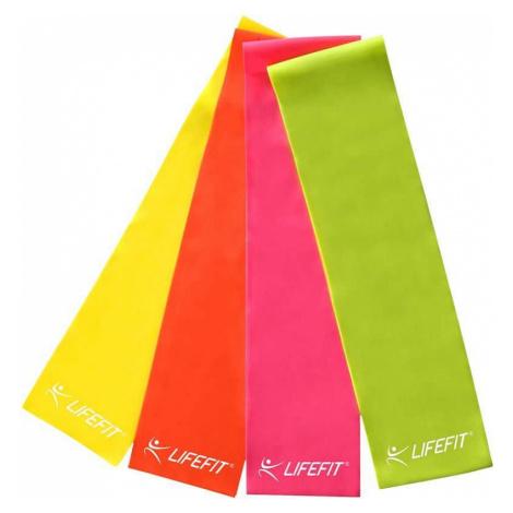 Posilovací guma LIFEFIT FLEXBAND 0,55, zelená