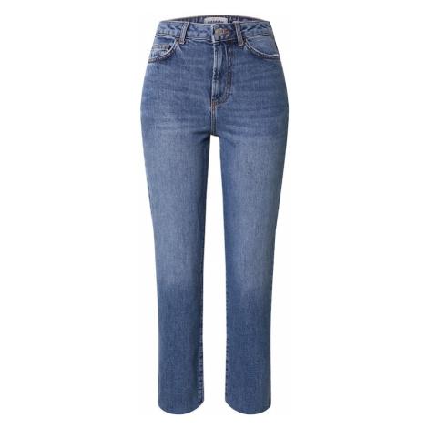 NEW LOOK Džínsy 'CHANG STRAIGHT LEG'  modrá denim