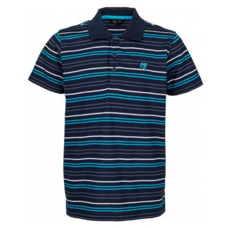 Lewro KERTYS modrá - Chlapčenské polo tričko
