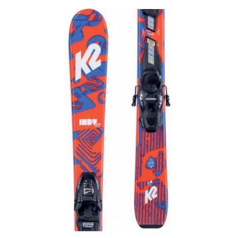 K2 INDY FDT 4.5 - Detské allmountain lyže s viazaním