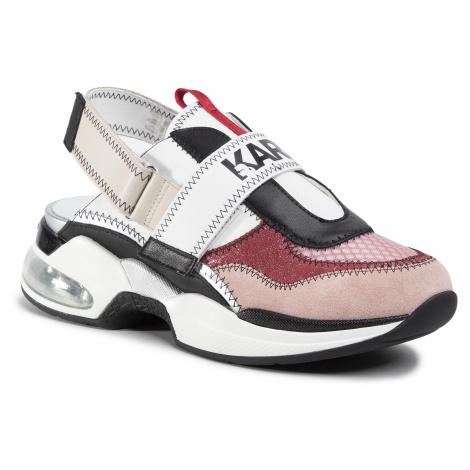 Sandále KARL LAGERFELD - KL61712 Pink Mix Textile