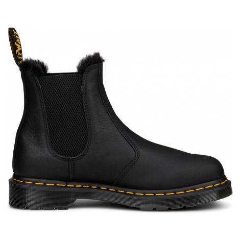 Dr. Martens 2976 Faux Fur Lined Chelsea Boots-3 čierne DM26333001-3 Dr Martens