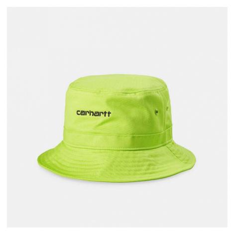 Carhartt WIP Script Bucket Hat I026217 LIME/BLACK