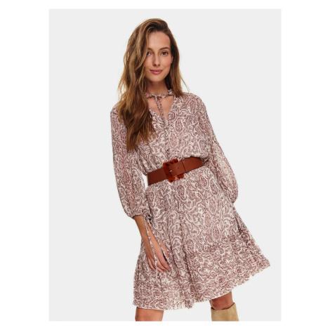 Šaty s dlhým rukávom Top Secret
