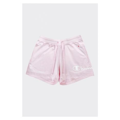 Champion šortky s logom dámske - ružové Veľkosť: XS