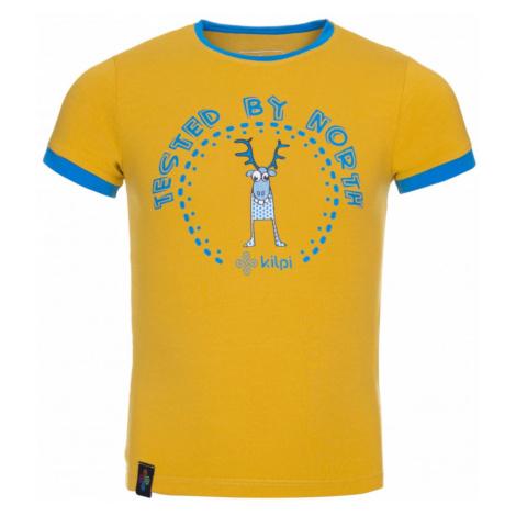 Boy's cotton T-shirt Mercy-jb yellow - Kilpi