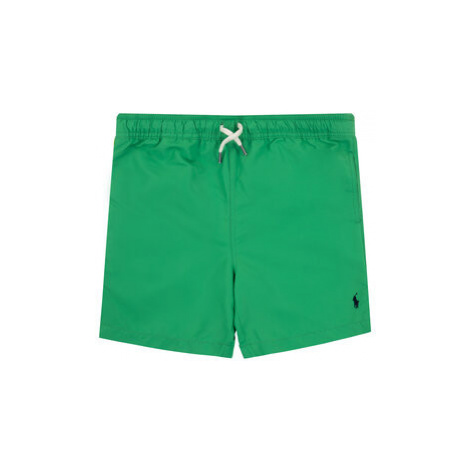 Polo Ralph Lauren Plavecké šortky Spring I 323785582 Zelená Regular Fit