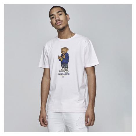 Cayler & Sons WHITE LABEL t-shirt WL Controlla Tee pale pink / mc - Veľkosť:S
