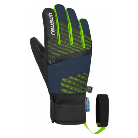 Reusch THEO R-TEX XT JR čierna - Juniorské lyžiarske rukavice