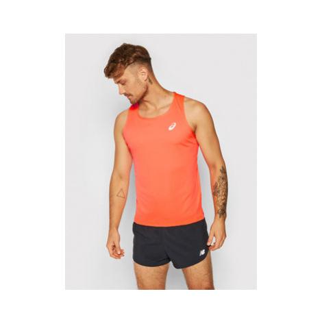 Asics Funkčné tričko Silver Singlet 2011A011 Oranžová Regular Fit