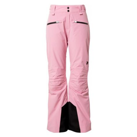 PEAK PERFORMANCE Outdoorové nohavice 'Scoot'  ružová / čierna