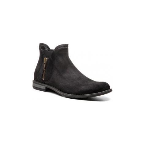 Gino Rossi Členková obuv s elastickým prvkom Aldo MBV257-S53-5700-9900-F Čierna