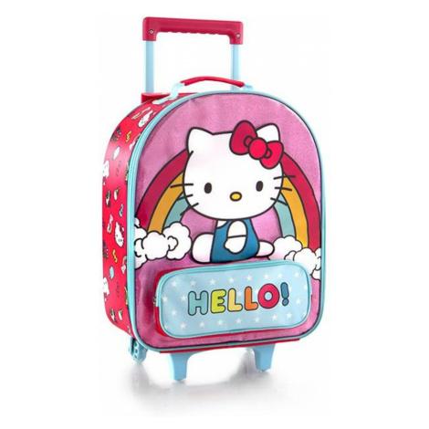 Heys Detský cestovný kufor Soft Hello Kitty Pink 21 l
