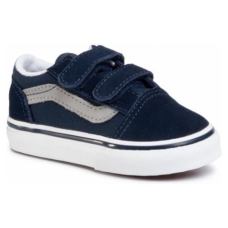 Sneakersy VANS - Old Skool V VN0A38JNWKN1 Dress Blue/Drizzle
