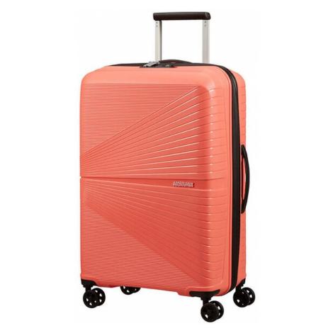 American Tourister Škrupinový cestovný kufor Airconic 67 l - oranžová