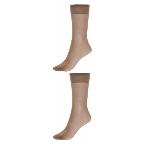TXM Woman's LADY'S KNEE HIGHS 2 PAIRS