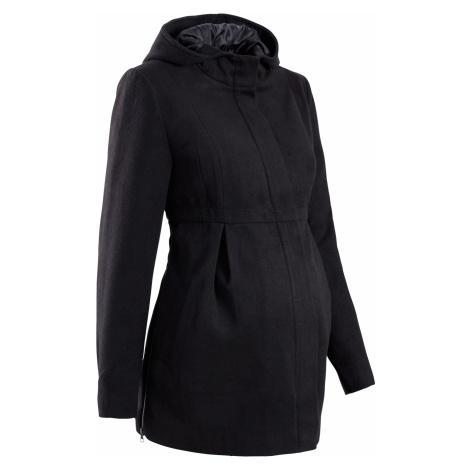 Tehotenský kabát s kapucňou, regulovateľný v šírke bonprix