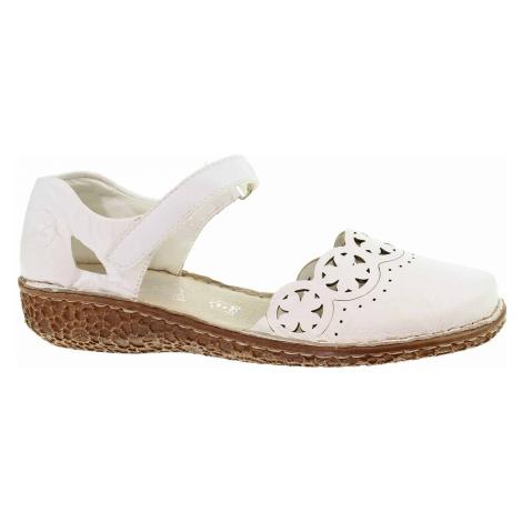 Dámské sandály Rieker M0956-80 weiss M0956-80