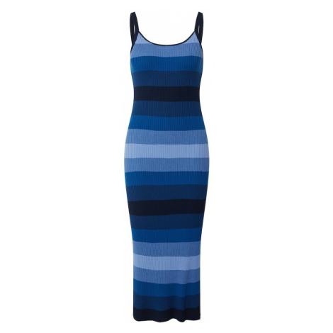 Banana Republic Pletené šaty  modrá / dymovo modrá / svetlomodrá / tmavomodrá / kobaltovomodrá