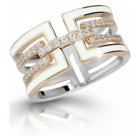 Modesi Luxusný strieborný prsteň M11072 mm