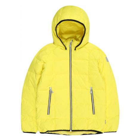 Reima Zimná bunda 'Jord'  citrónová žltá
