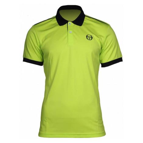 Club Tech Polo 2017 pánské triko barva: bílá;velikost oblečení: XXXL Sergio Tacchini