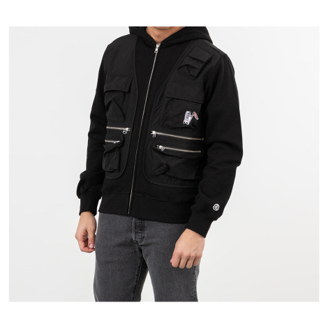 Billionaire Boys Club Tactical Zip Through Hoodie Black