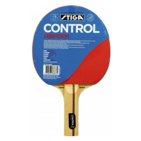 Stiga CONTROL PERFORM červená - Raketa na stolný tenis