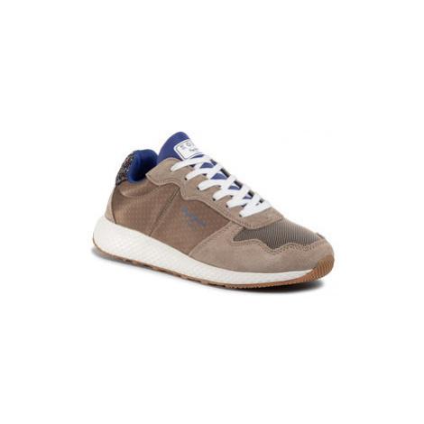 Pepe Jeans Sneakersy Koko Sky PLS30936 Zelená