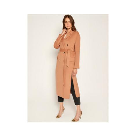 Pinko Prechodný kabát Giacomo AI 20-21 BLK01 1G14ZV Y27P Hnedá Regular Fit