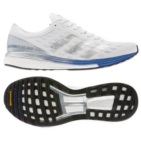 Pánske Bežecké Topánky Adidas Adizero Boston 9 Biele