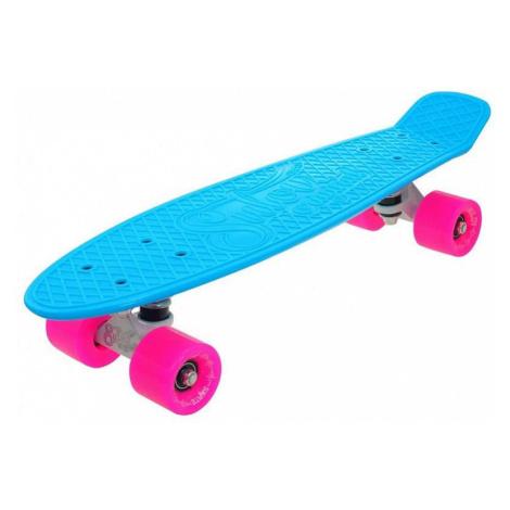 """Penny board 22"""" SULOV NEON SPEEDWAY sv.modrý-růžový"""
