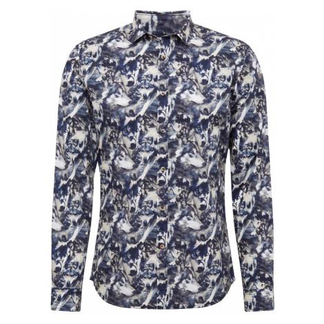 CINQUE Košeľa 'Cispuky'  námornícka modrá / biela