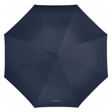 Samsonite Holový poloautomatický deštník Up Way - modrá